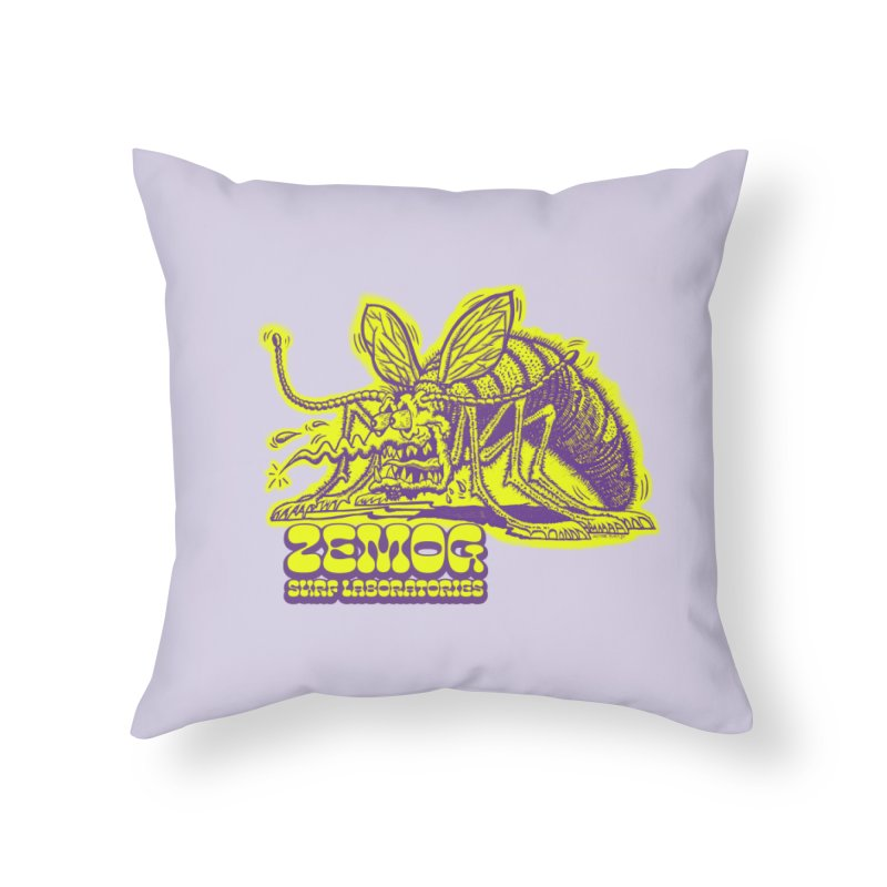 Mosquito Home Throw Pillow by GomezBueno's Artist Shop