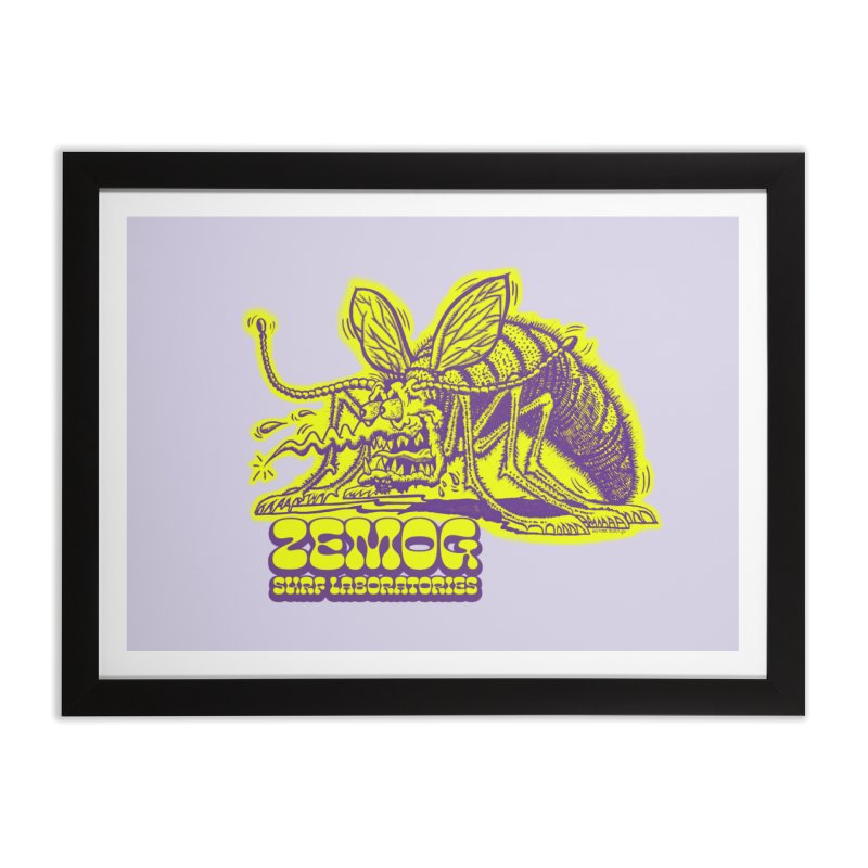 Mosquito Home Framed Fine Art Print by GomezBueno's Artist Shop