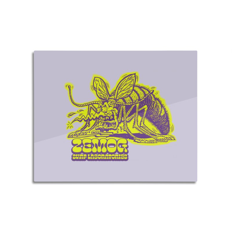 Mosquito Home Mounted Aluminum Print by GomezBueno's Artist Shop