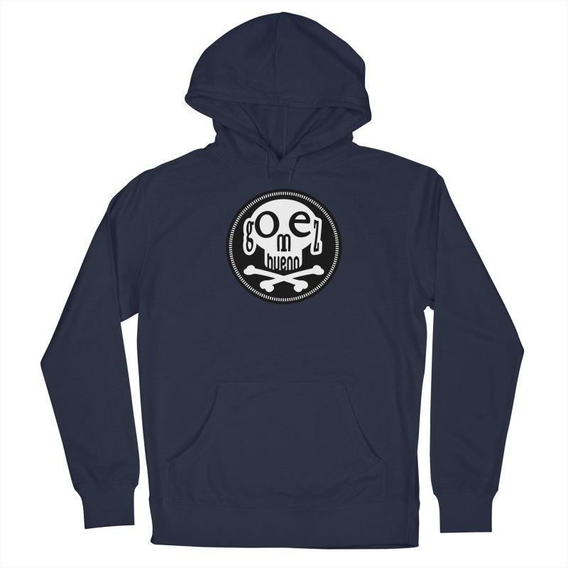 Skull B/W Men's Pullover Hoody by GomezBueno's Artist Shop