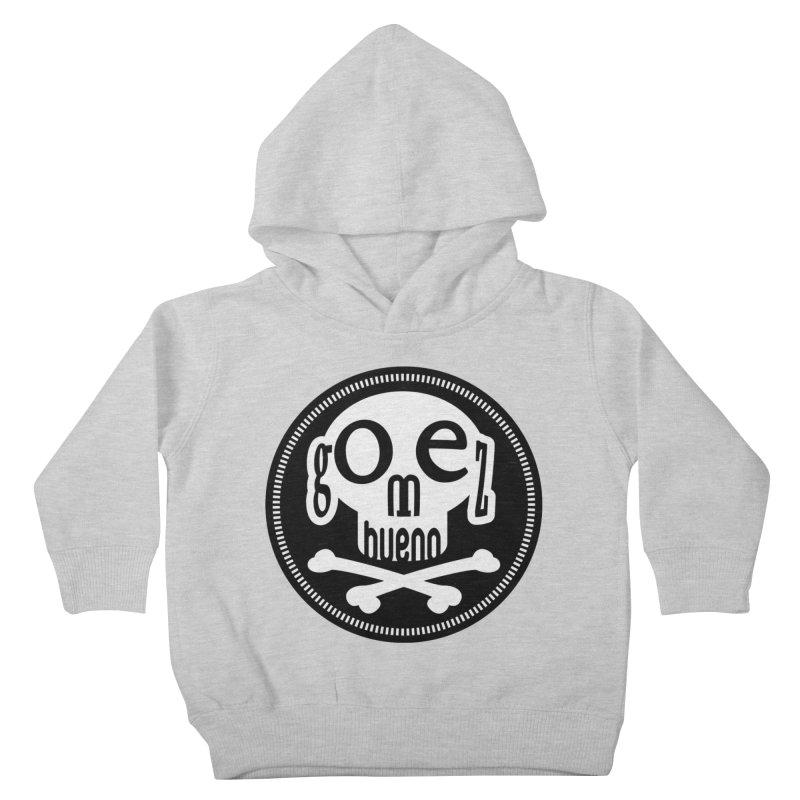 Skull B/W Kids Toddler Pullover Hoody by GomezBueno's Artist Shop
