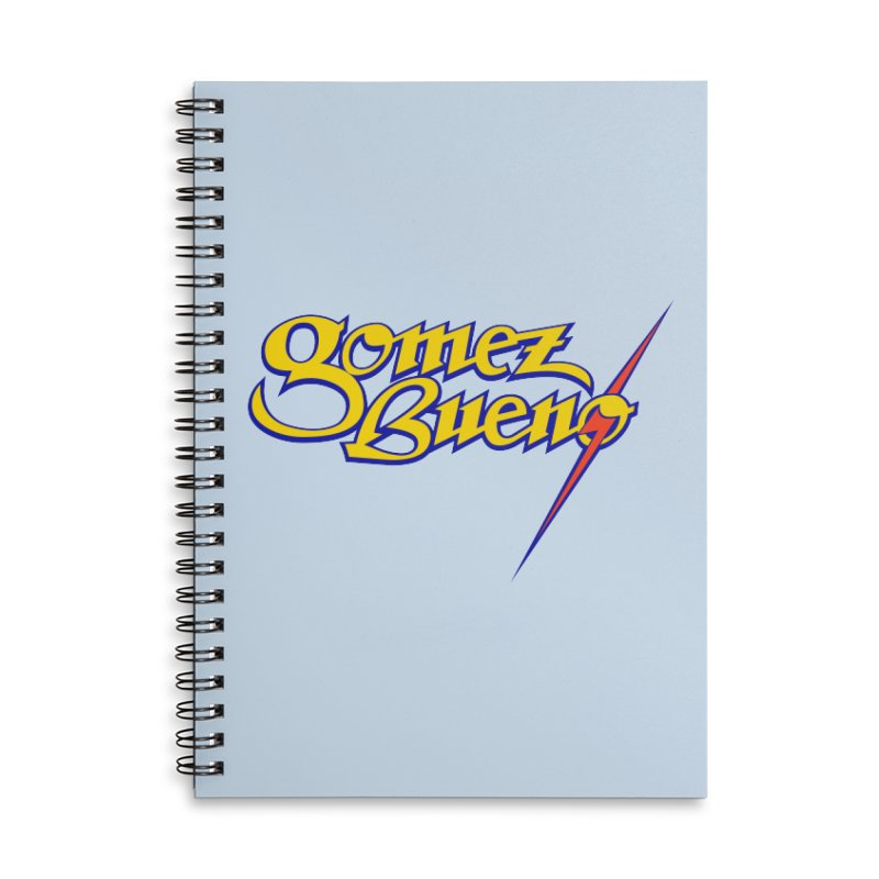 GB Bolt Accessories Notebook by GomezBueno's Artist Shop