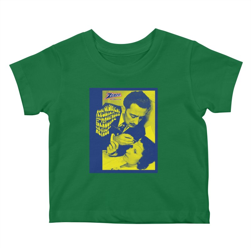 Surfolóxical Dalí Kids Baby T-Shirt by GomezBueno's Artist Shop