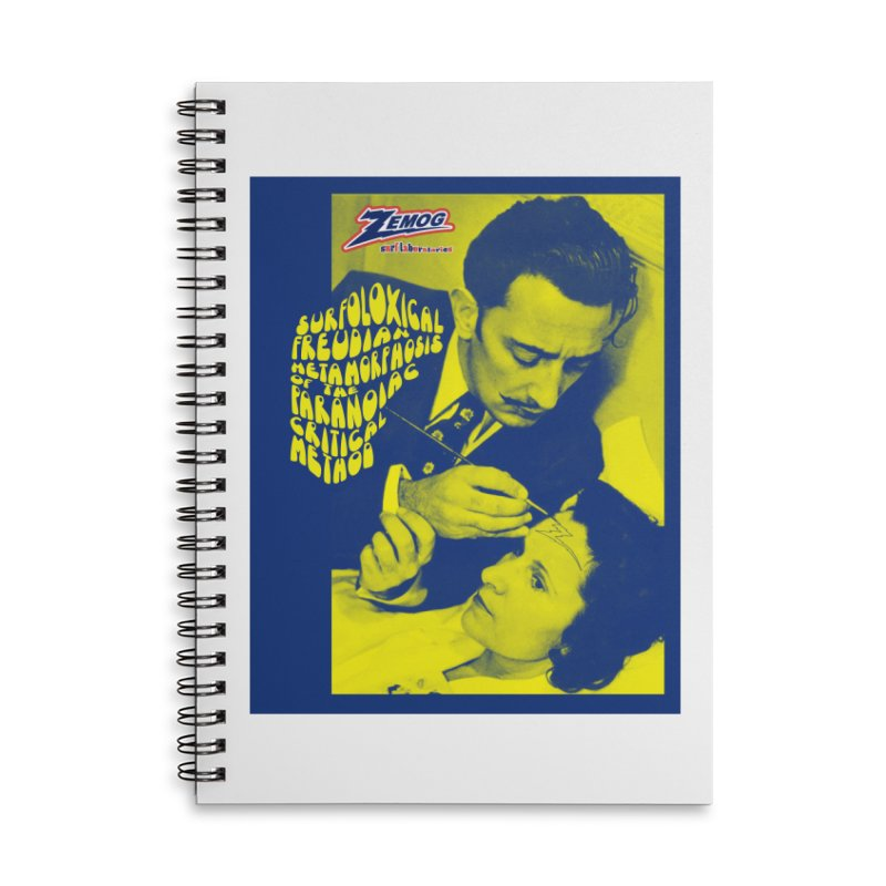 Surfolóxical Dalí Accessories Notebook by GomezBueno's Artist Shop