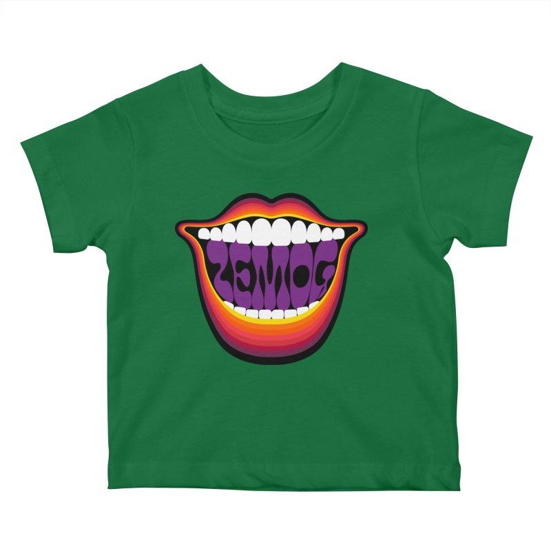 Boca Kids Baby T-Shirt by GomezBueno's Artist Shop