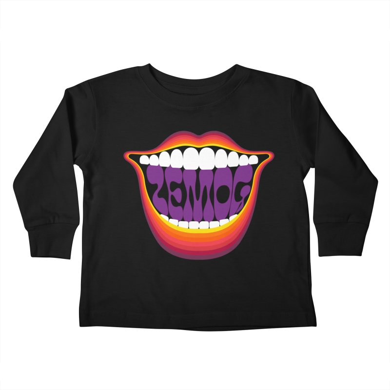 Boca Kids Toddler Longsleeve T-Shirt by GomezBueno's Artist Shop