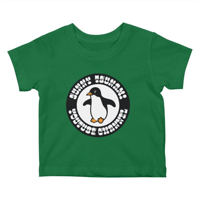 Sunny Tsunami 1 Kids Baby T-Shirt by GomezBueno's Artist Shop