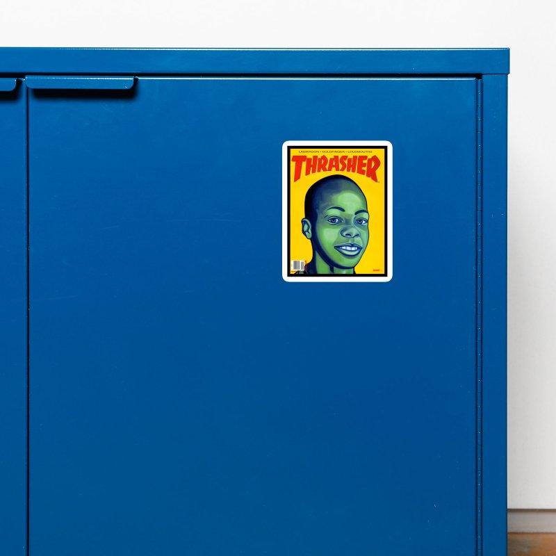 Thrasher Cover Accessories Magnet by GomezBueno's Artist Shop