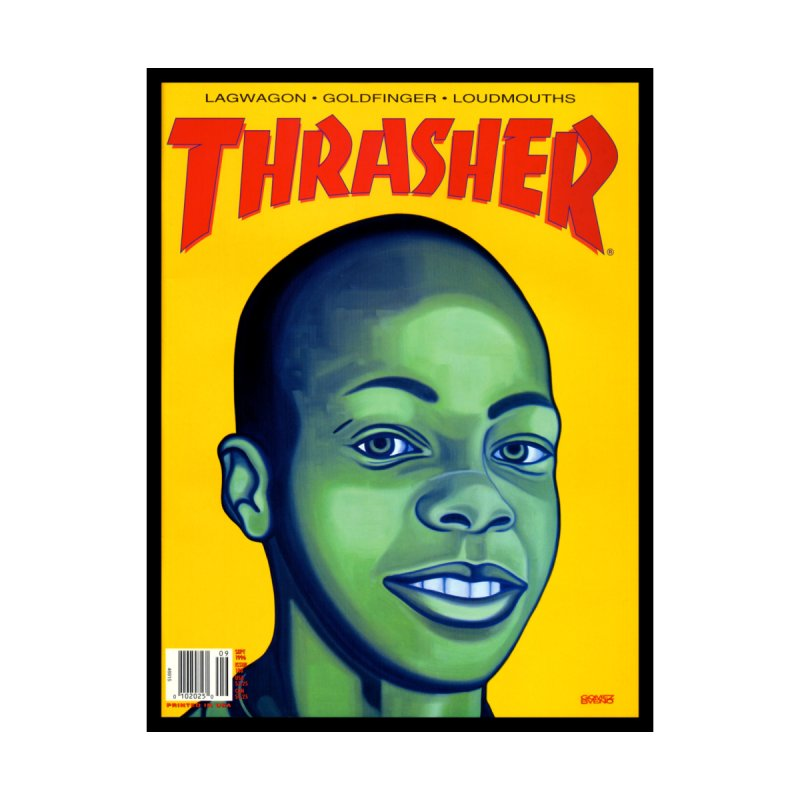 Thrasher Cover Accessories Sticker by GomezBueno's Artist Shop