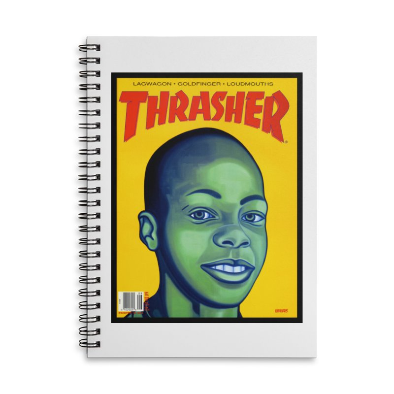 Thrasher Cover Accessories Notebook by GomezBueno's Artist Shop