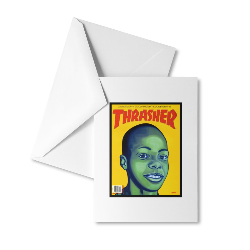 Thrasher Cover Accessories Greeting Card by GomezBueno's Artist Shop