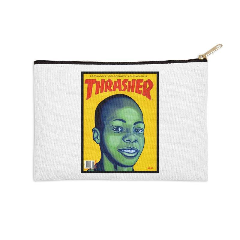 Thrasher Cover Accessories Zip Pouch by GomezBueno's Artist Shop