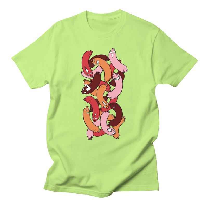 Insane Sausage Men's Regular T-Shirt by gominam's Artist Shop