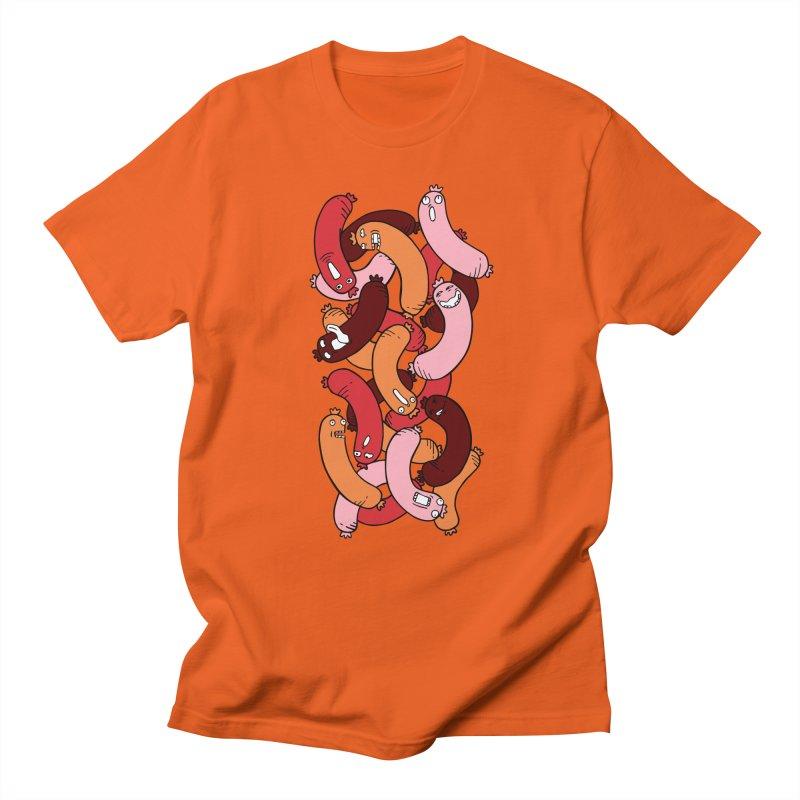 Insane Sausage Men's T-Shirt by gominam's Artist Shop