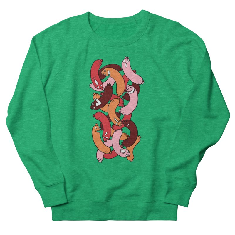 Insane Sausage Men's Sweatshirt by gominam's Artist Shop