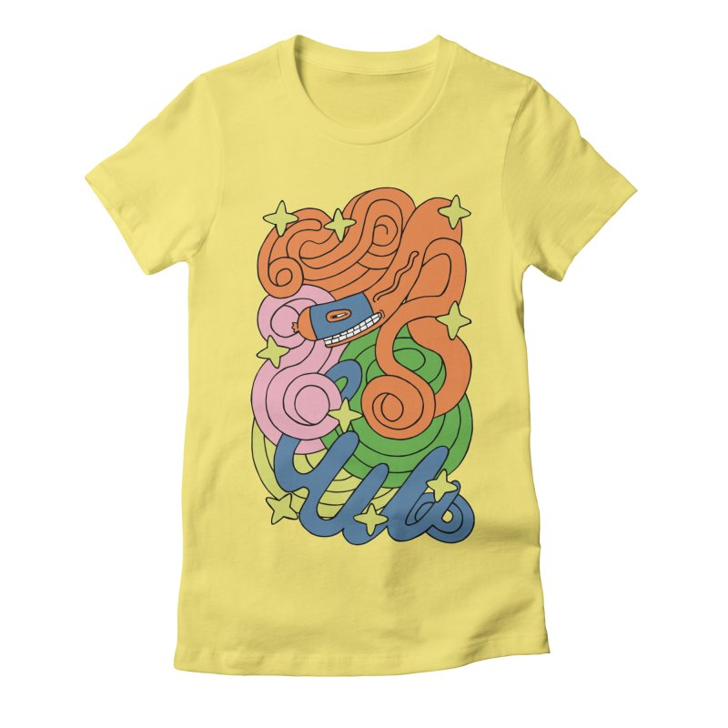 Infinite Sausage Women's Fitted T-Shirt by gominam's Artist Shop