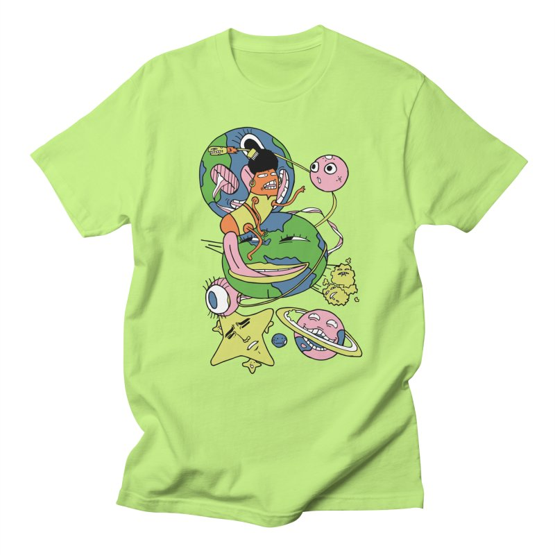 Cosmic Voyage Men's Regular T-Shirt by gominam's Artist Shop