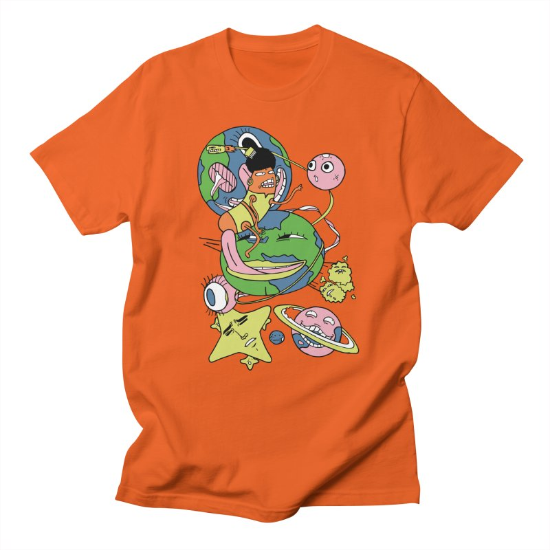 Cosmic Voyage Men's T-Shirt by gominam's Artist Shop