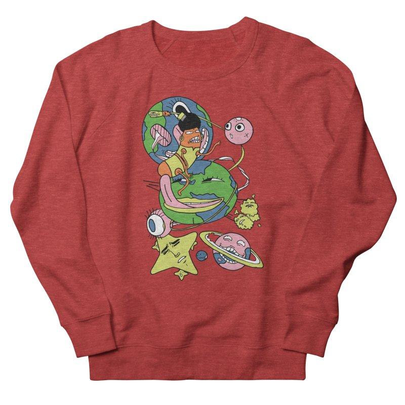 Cosmic Voyage Women's French Terry Sweatshirt by gominam's Artist Shop