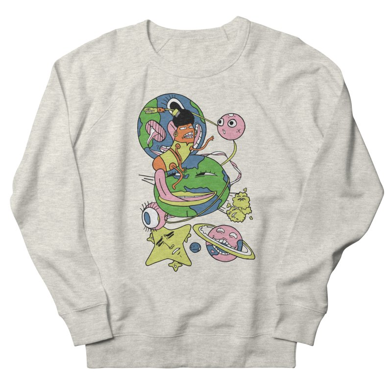 Cosmic Voyage Men's French Terry Sweatshirt by gominam's Artist Shop