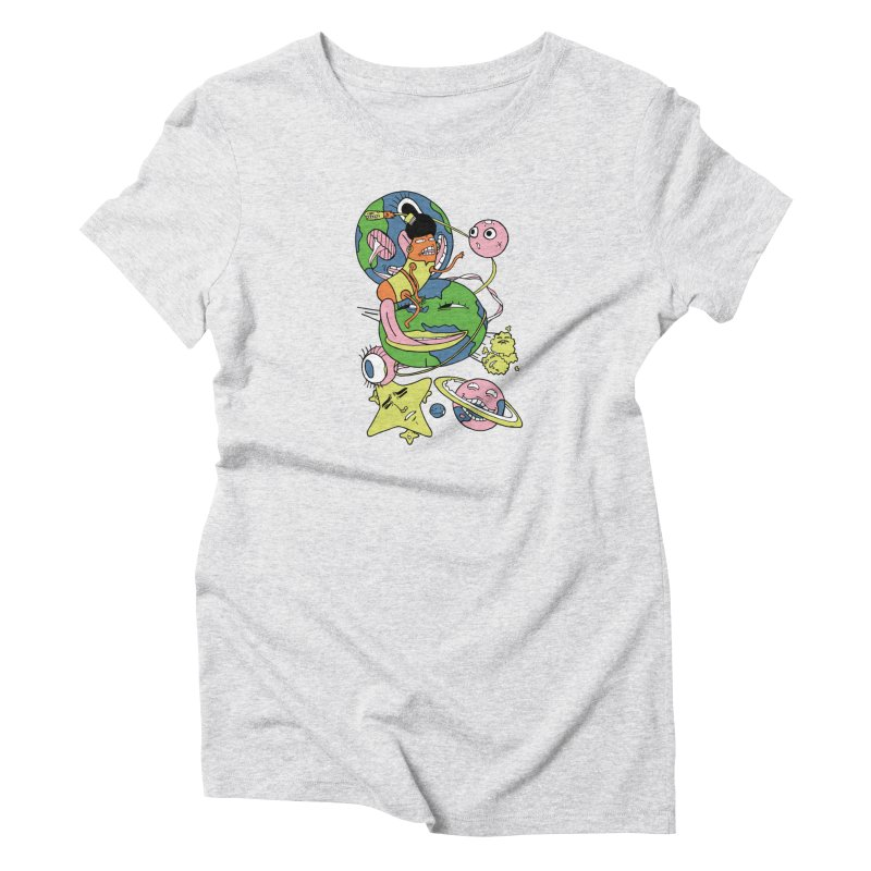 Cosmic Voyage Women's T-Shirt by gominam's Artist Shop
