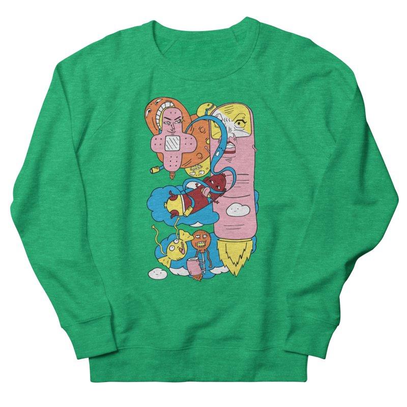 Astral Travel Men's French Terry Sweatshirt by gominam's Artist Shop