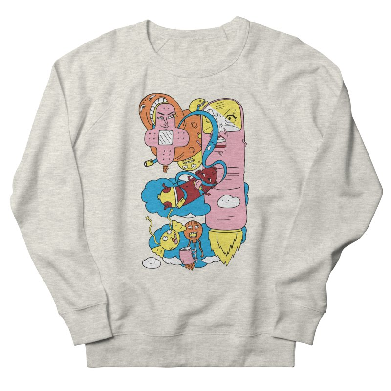Astral Travel Men's French Terry Sweatshirt by gominam's Artist Shop