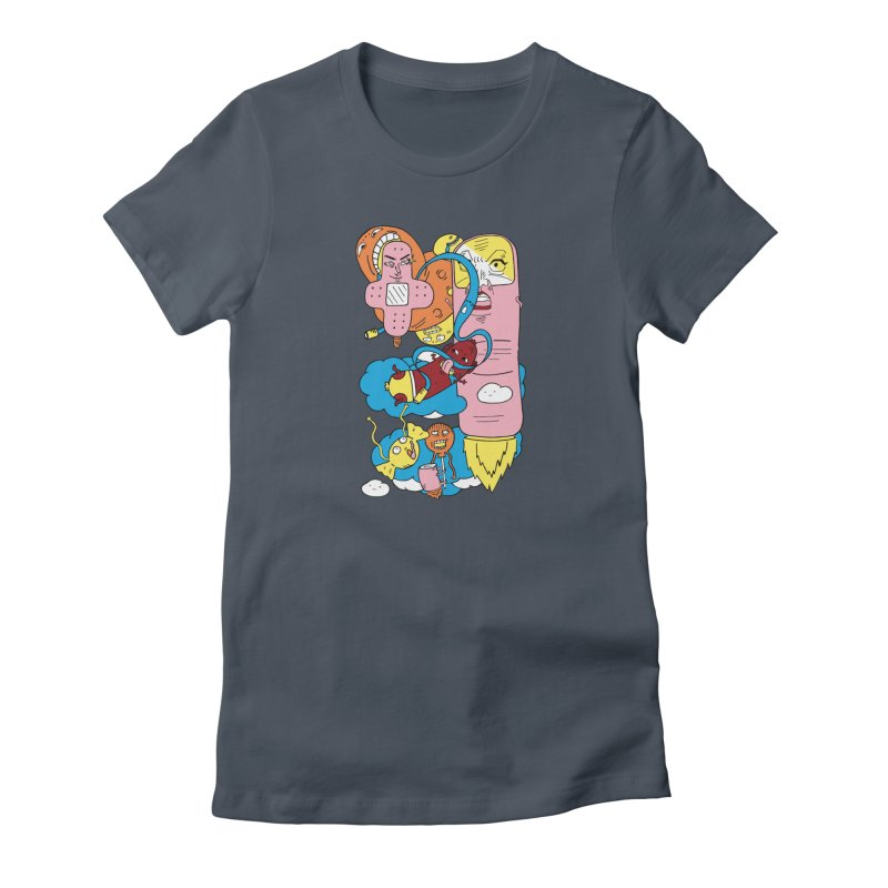 Astral Travel Women's T-Shirt by gominam's Artist Shop