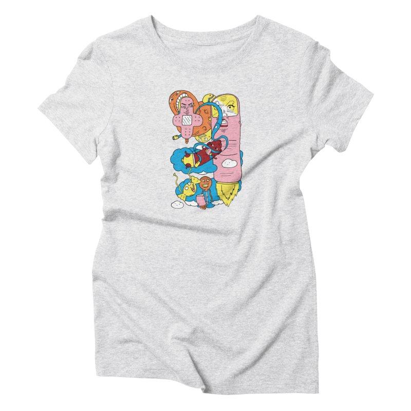 Astral Travel Women's T-Shirt by gominam's Artist Shop