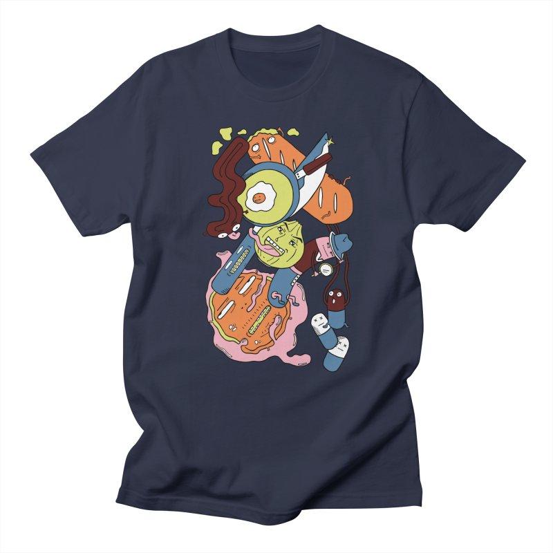 Gastronomic Tour Men's T-shirt by gominam's Artist Shop