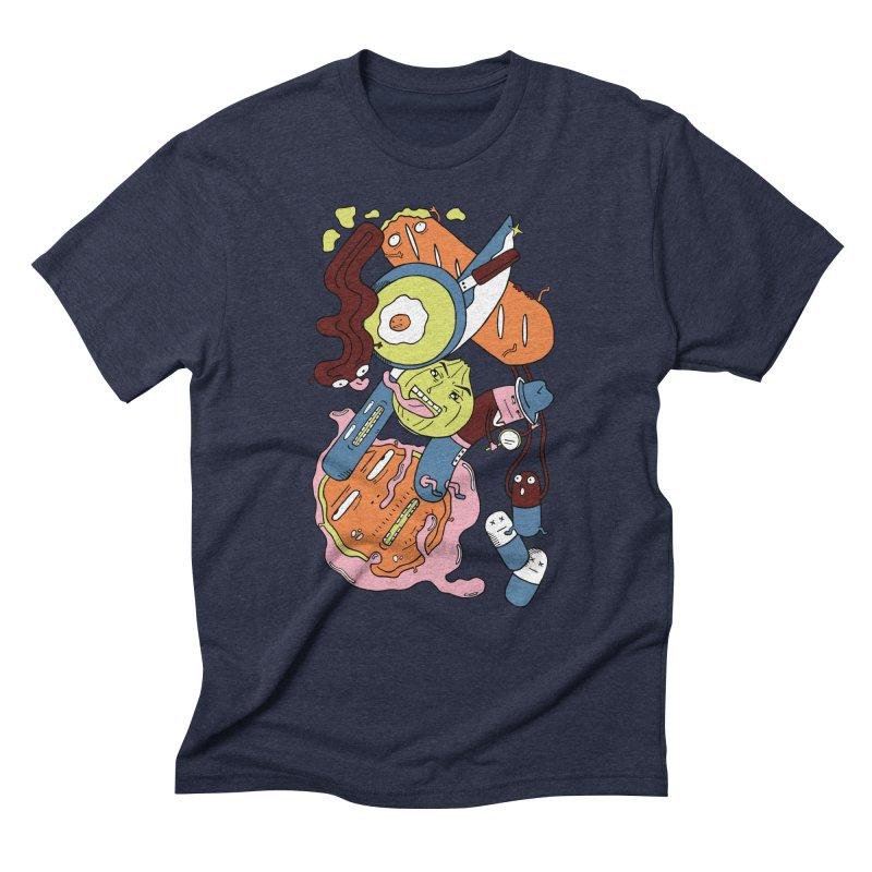 Gastronomic Tour Men's Triblend T-Shirt by gominam's Artist Shop