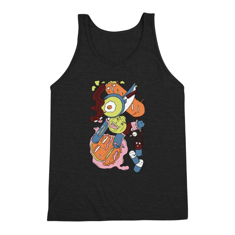 Gastronomic Tour Men's Triblend Tank by gominam's Artist Shop