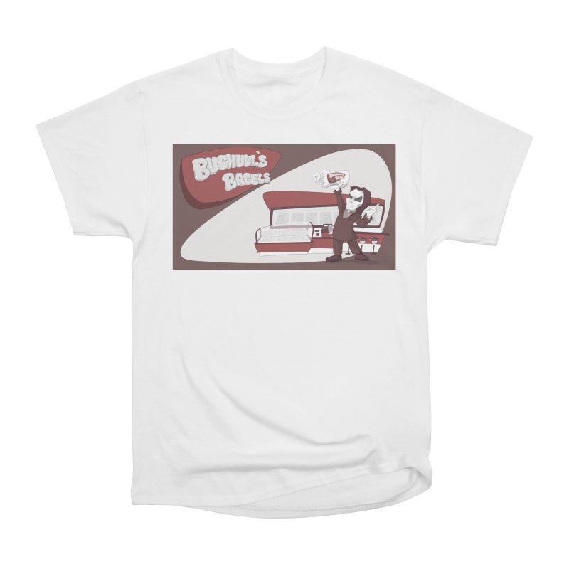 Bughuul's Bagels Women's T-Shirt by Good Bad Flicks