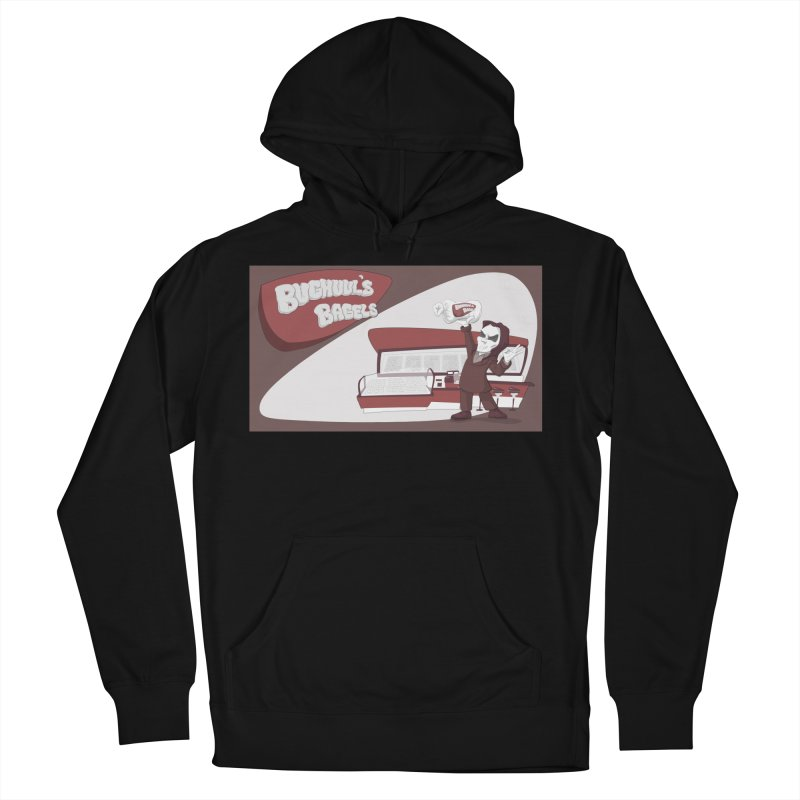 Bughuul's Bagels Women's French Terry Pullover Hoody by goodbadflicks's Artist Shop