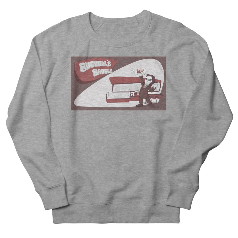 Bughuul's Bagels Men's French Terry Sweatshirt by goodbadflicks's Artist Shop