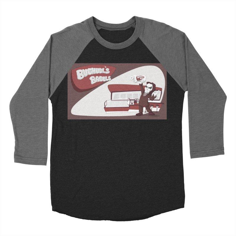 Bughuul's Bagels Men's Baseball Triblend Longsleeve T-Shirt by Good Bad Flicks