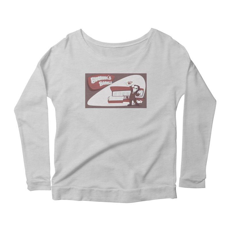 Bughuul's Bagels Women's Scoop Neck Longsleeve T-Shirt by Good Bad Flicks