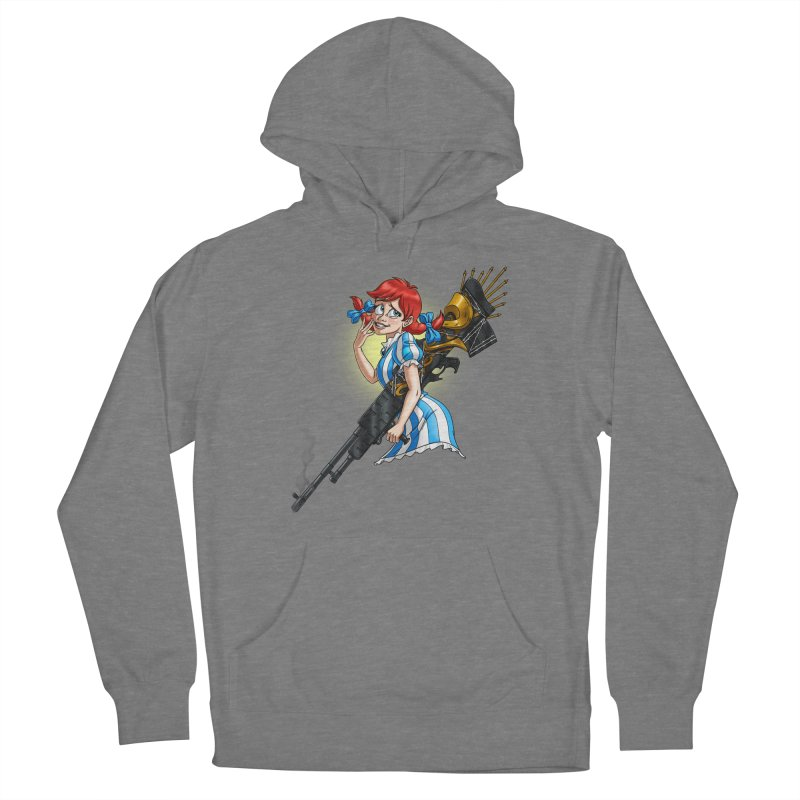 Burger Witch Men's Pullover Hoody by Good Bad Flicks