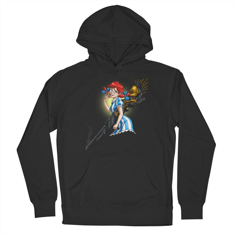 Burger Witch Women's Pullover Hoody by Good Bad Flicks