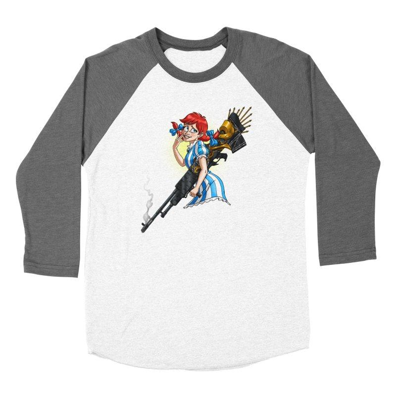 Burger Witch Women's Longsleeve T-Shirt by Good Bad Flicks