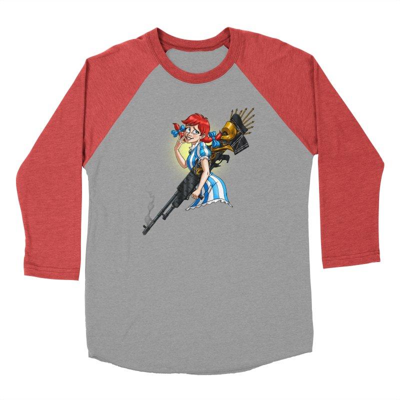 Burger Witch Men's Longsleeve T-Shirt by Good Bad Flicks