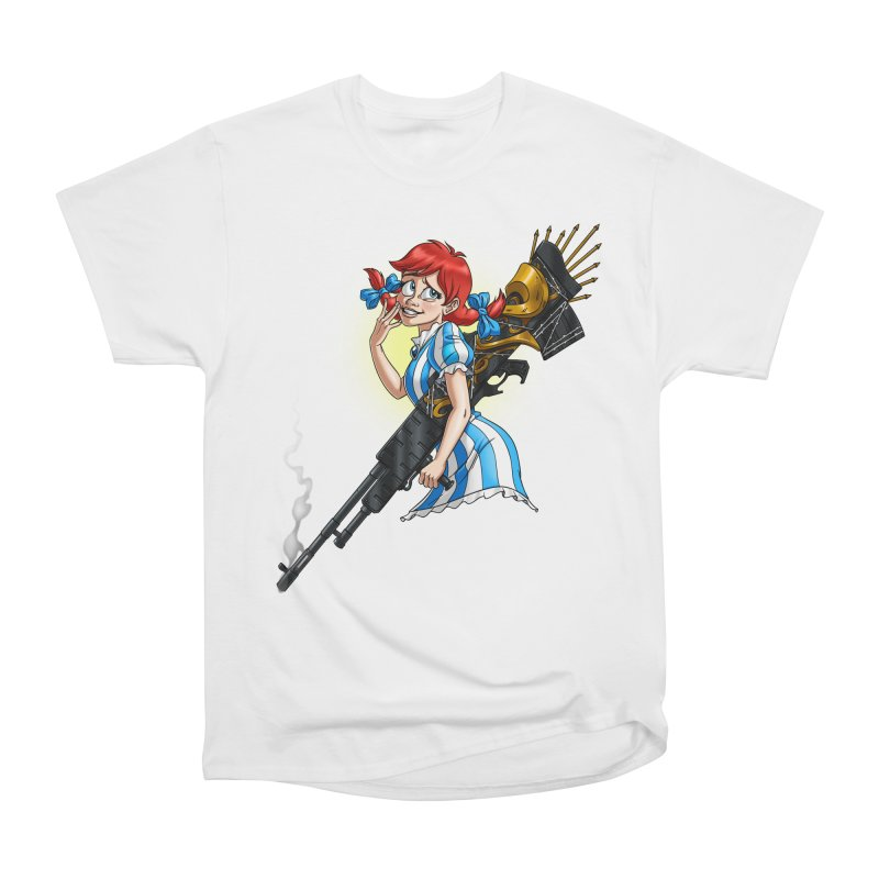 Burger Witch Men's Heavyweight T-Shirt by goodbadflicks's Artist Shop