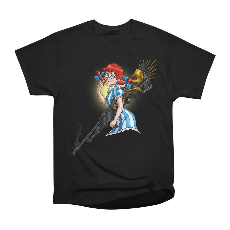 Burger Witch Men's Heavyweight T-Shirt by Good Bad Flicks
