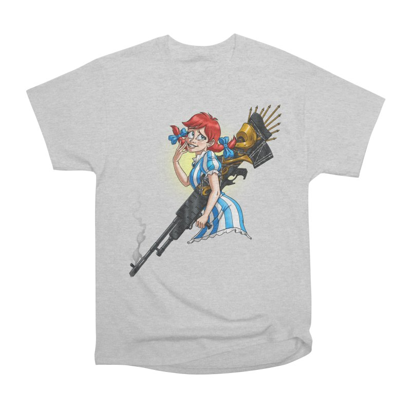 Burger Witch Men's Heavyweight T-Shirt by Good Bad Flicks
