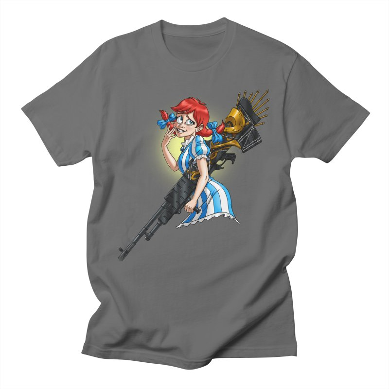 Burger Witch Men's T-Shirt by Good Bad Flicks