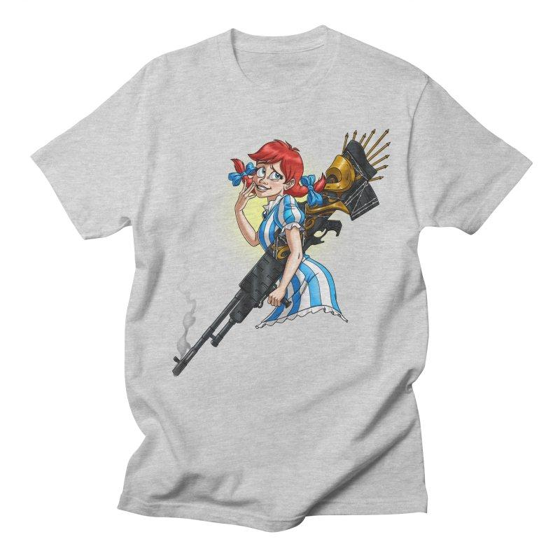 Burger Witch Women's Regular Unisex T-Shirt by Good Bad Flicks
