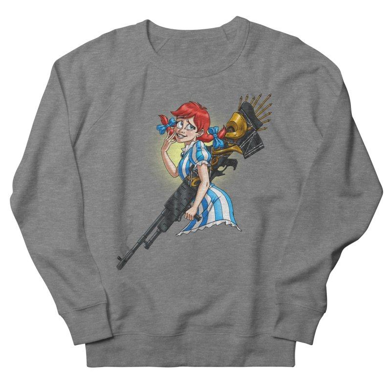 Burger Witch Women's Sweatshirt by Good Bad Flicks
