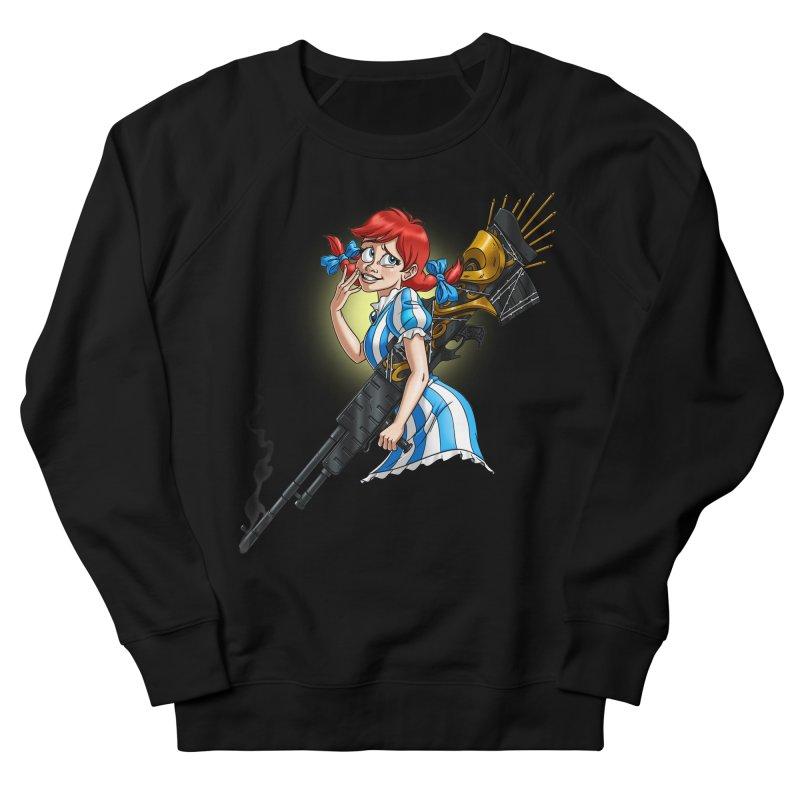 Burger Witch Men's Sweatshirt by Good Bad Flicks