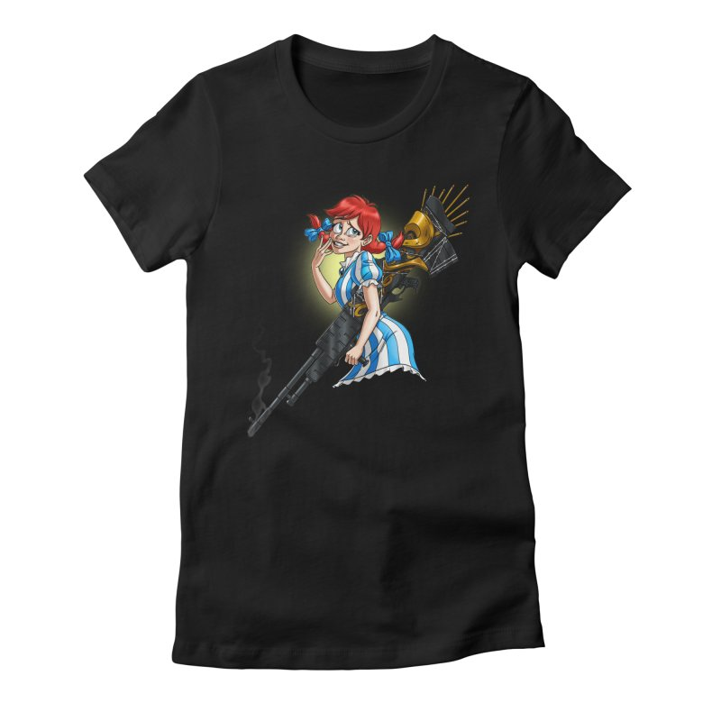 Burger Witch Women's T-Shirt by Good Bad Flicks
