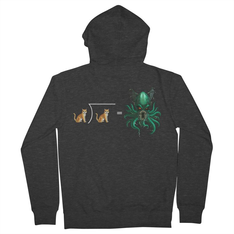 Uninvited Women's French Terry Zip-Up Hoody by goodbadflicks's Artist Shop